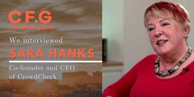Sara Hanks: Bringing compliance and diligence to online capital-raising